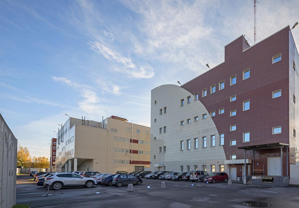 Здание Автохозяйства Административного финансово-кредитного комплекса