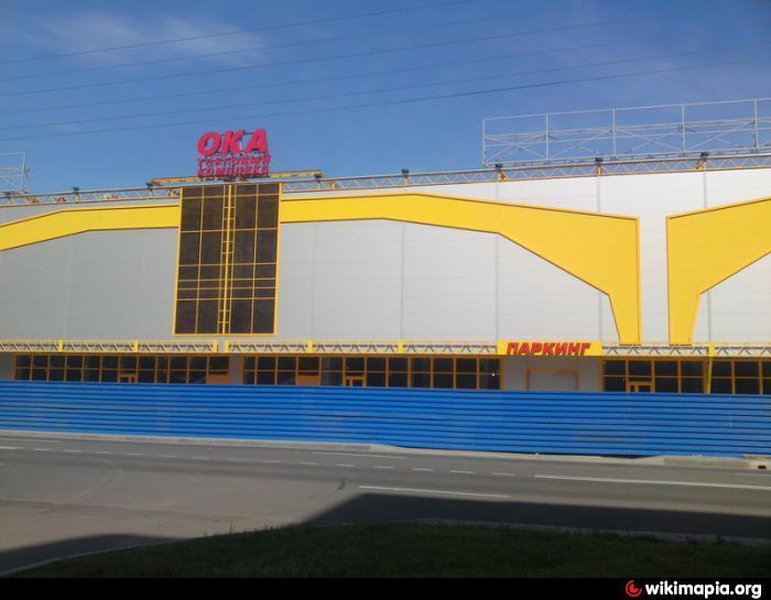 Здание торгового комплекса ОКА